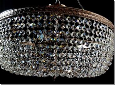 Plafoniere Moderne : Moderner design kristall deckenleuchter drei flammig messing
