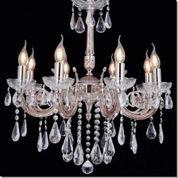 Kerzenhalter LED Beleuchtung glamourös voluminös Metall