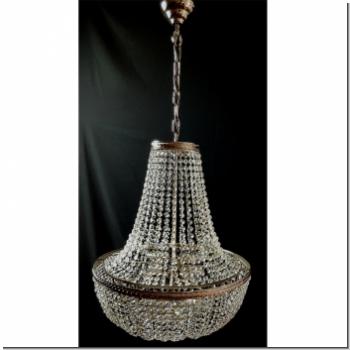 klassischer design kristall deckenl ster sechs flammig messing 24k vergoldet mit aktuellem. Black Bedroom Furniture Sets. Home Design Ideas