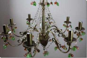 Kronleuchter Ohne Kristall ~ Großer design kristall kronleuchter 8 flammig von royalleuchten.de
