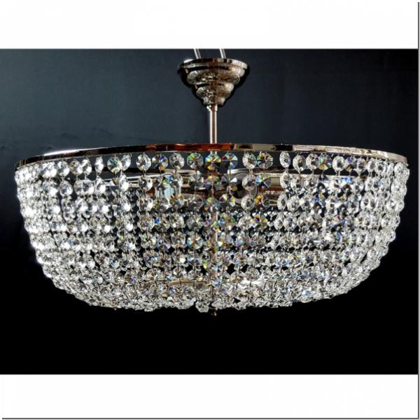 S002 001 Royalleuchten Plafoniere Deckenleuchter Moderne Kronleuchter  Kristallbehang