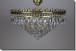 Design crystal luster ceiling chandelier brass lighting with cut lead crystals 1+242 - Kopie