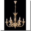 A1008 - glamorous royal chandelier/ gold(24 carat)-plated brass