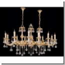 A1039 - Glamorous chandelier with crystal balls