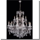 A1061 – Crystal chandeliers, chandeliers, Maria Theresa with 18-armed