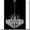 A1104 - Luxus Chandelier, 2 armed with Platinum brass