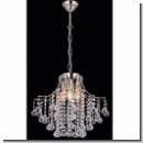A1121 - Chandelier, with crystal lends