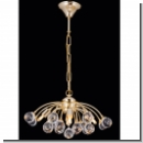 A1154 - Modern Design chandelier with crystal with crystal balls, 24 K. gold plated