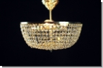 PGD30 - Plafoniere Design crystal ceiling chandelier brass  lighting 30cm