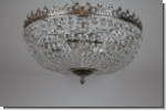 Design crystal luster ceiling chandelier brass lighting with cut lead crystals 1+245