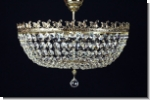 Classic crystal chandelier luster lighting brass 24k gold plated 1+286
